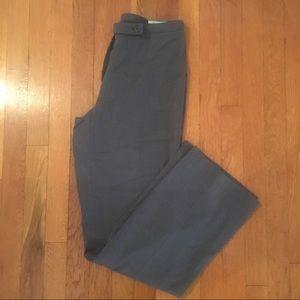 Gray Classic Fit Dress Pants